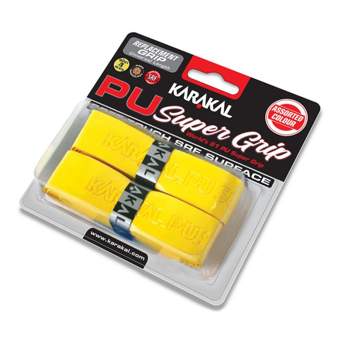 Pu Grip 2 Pack in Yellow