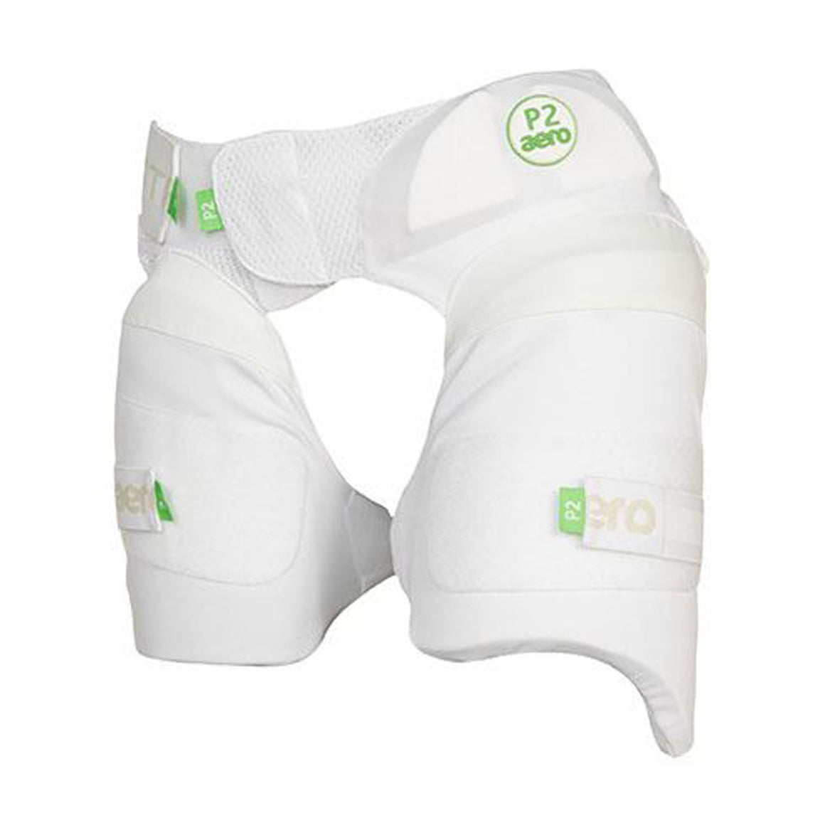 P2 Strippers Cricket Lower Body Protectors R/H in White