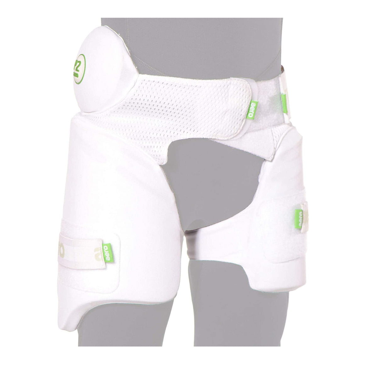 Aero P2 Strippers Cricket Lower Body Protectors L/H in White