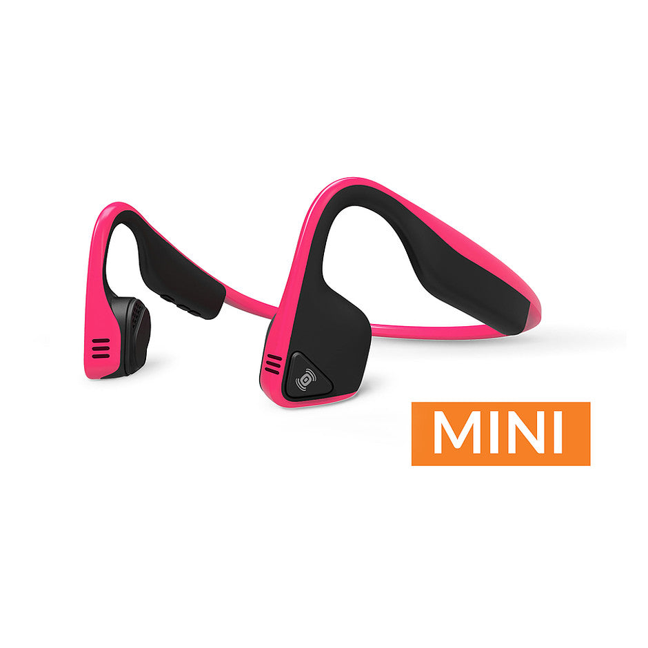 Trekz Titanium Mini Bone Conduction Headphones in Pink (Pink/ Black)