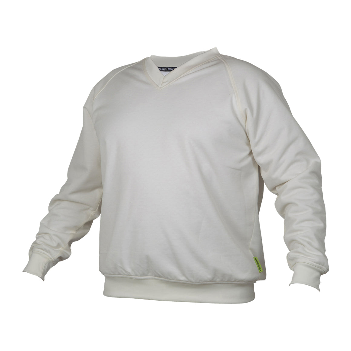 Predator Cricket Sweater for Kids in Ivory
