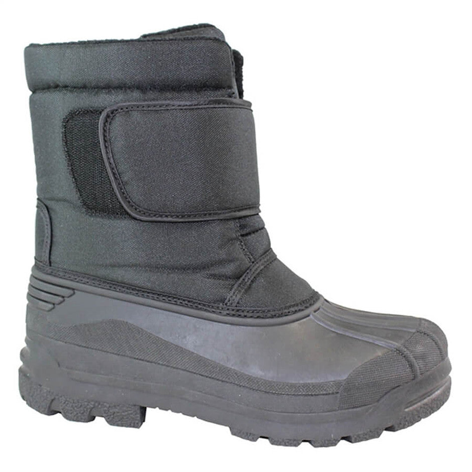 Alaska Boots for Adults - Unisex in Black