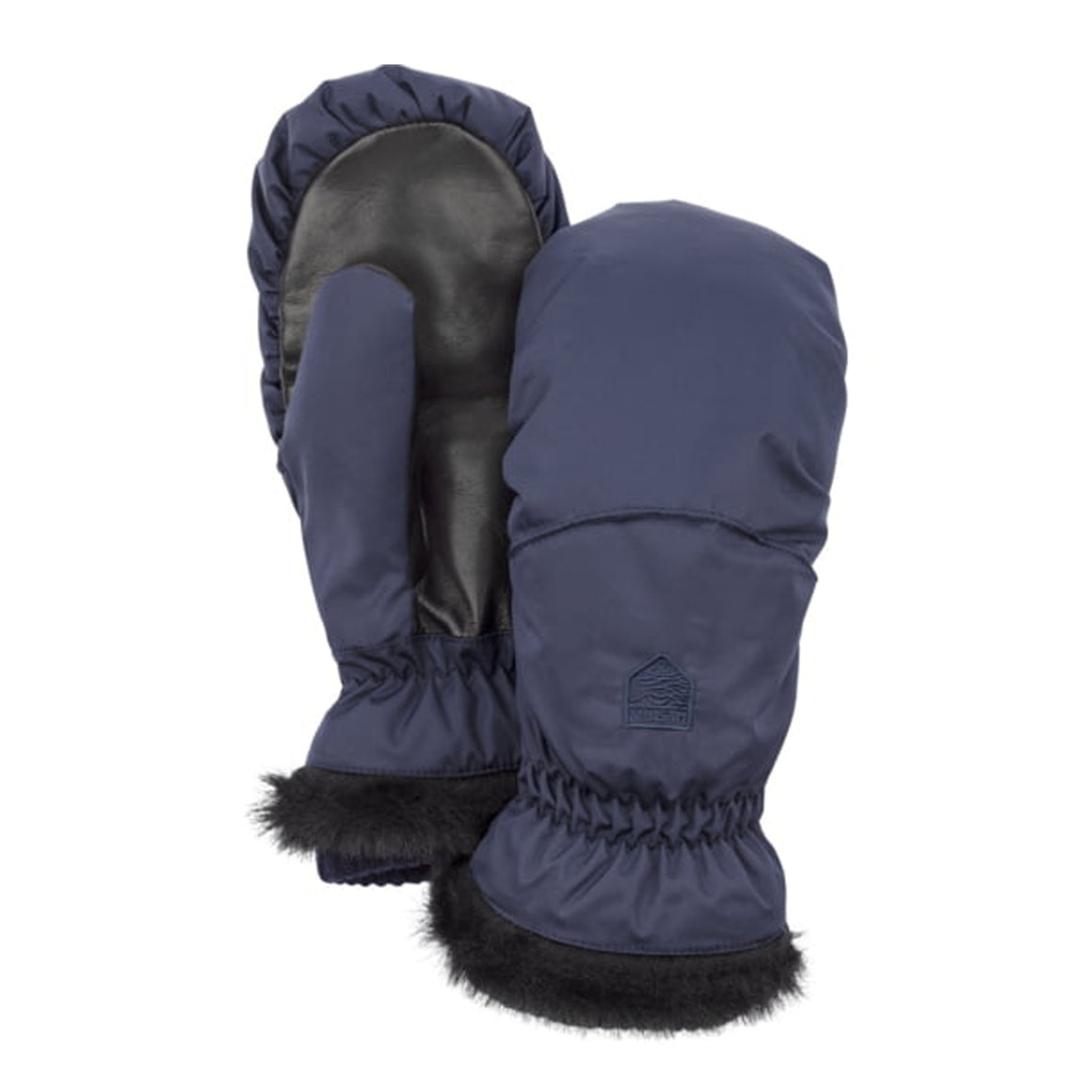 Primaloft Winter Forest Ski Mitts for Women in Navy