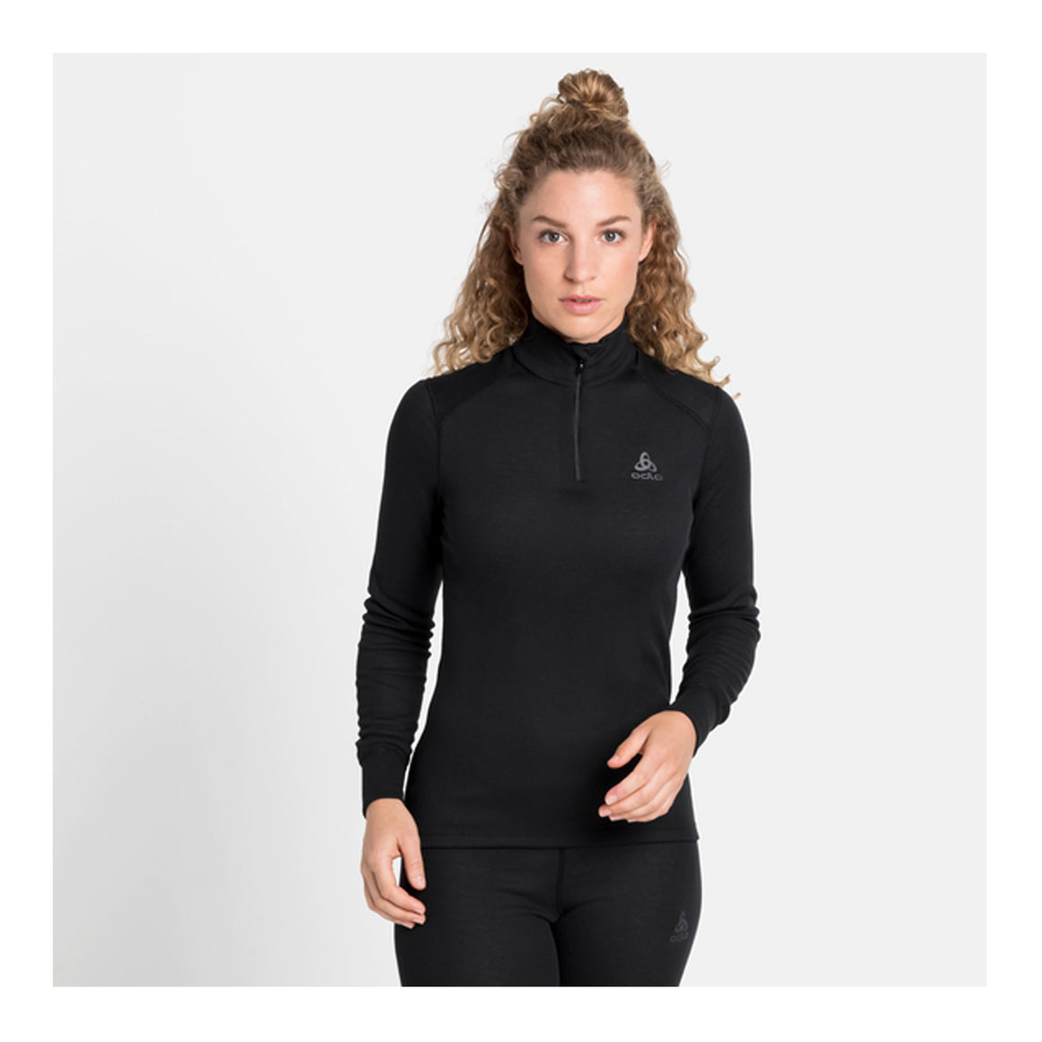 Active Warm Eco Turtle Neck for Women in Black