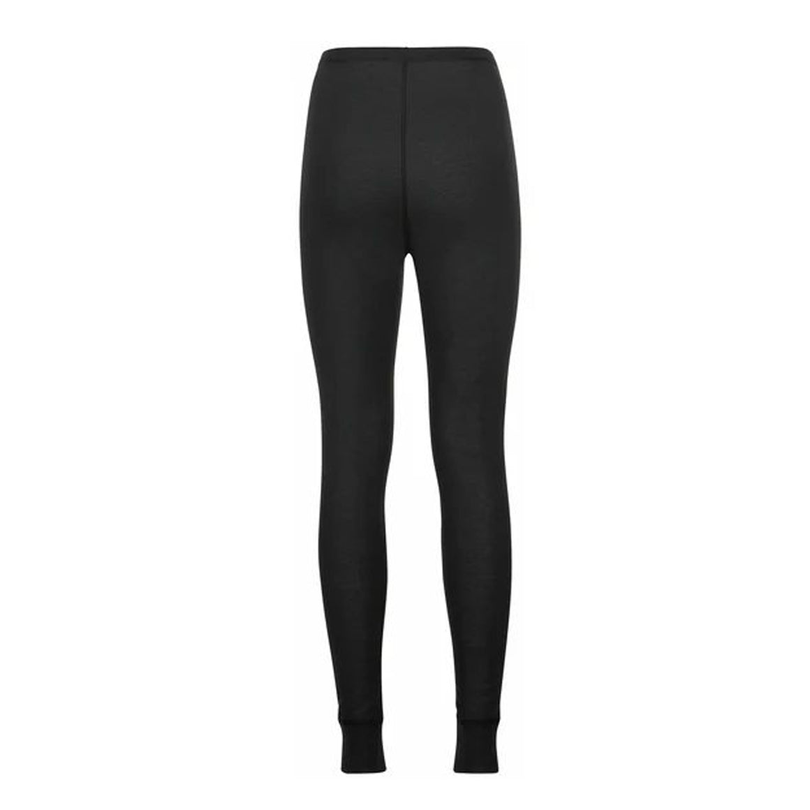 Active Warm Eco Long Bottoms for Women in Black