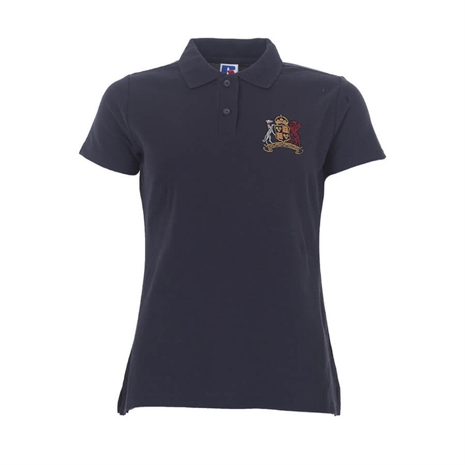 Old Ipswichian Polo Shirt - Ladies Fit in Navy