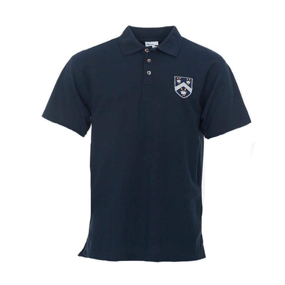 Old Framlinghamian Crested Polo Shirt - Navy