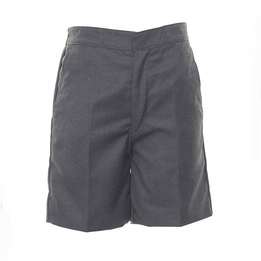 Boys' School Classic Shorts in Mid Grey