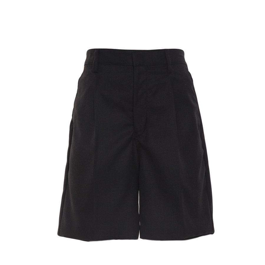Boys' School Bermuda Length Shorts in Charcoal
