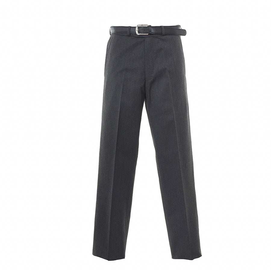 Boys' School Senior Regular Fit Trousers in Grey