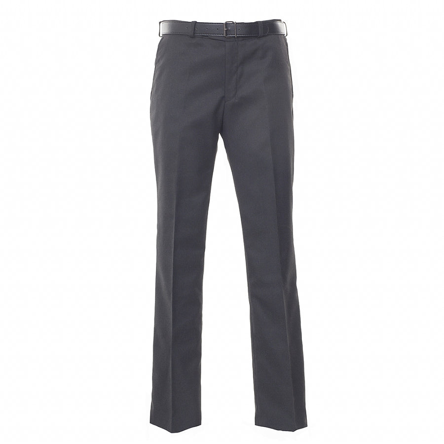 Boys' School Senior Trousers in Grey – Slim Fit