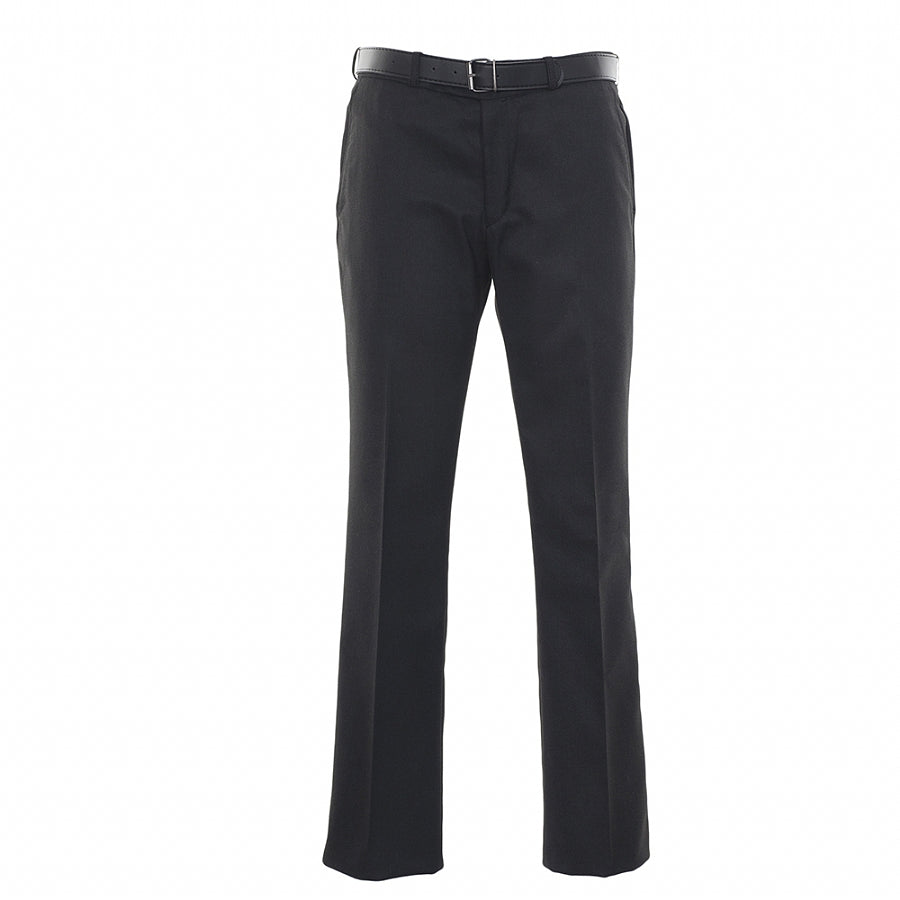 Boys' School Senior Trousers in Charcoal – Slim Fit