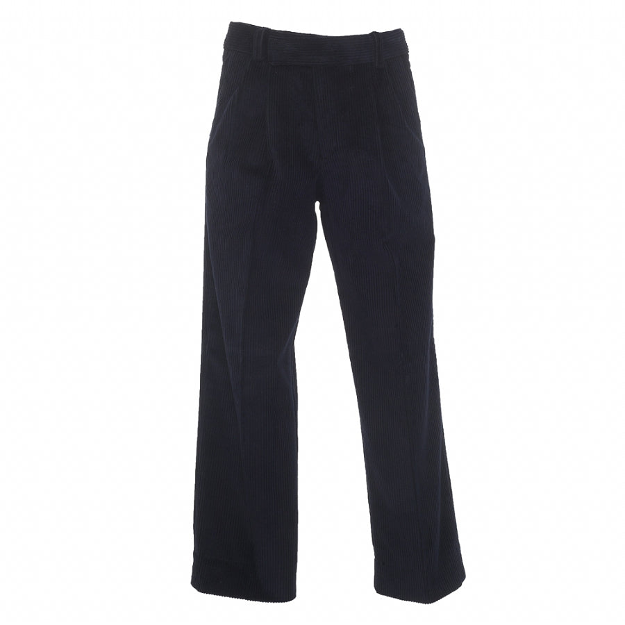 Boys' School Junior Corduroy Trousers in Navy