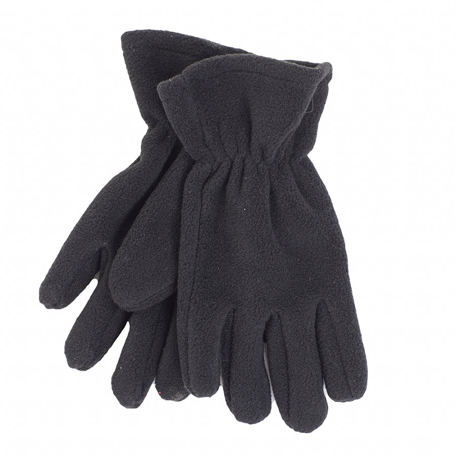 Fleece Glove - Black