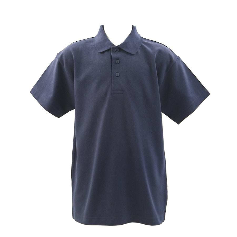 School Polo Shirt in Navy