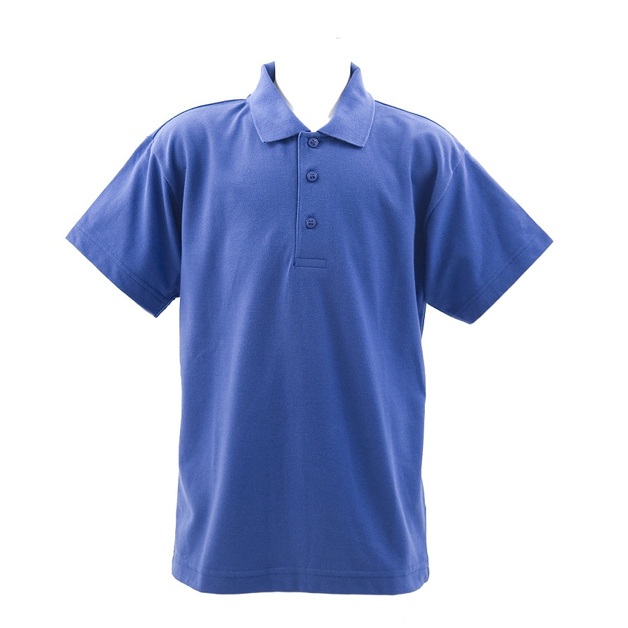 School Polo Shirt in Royal