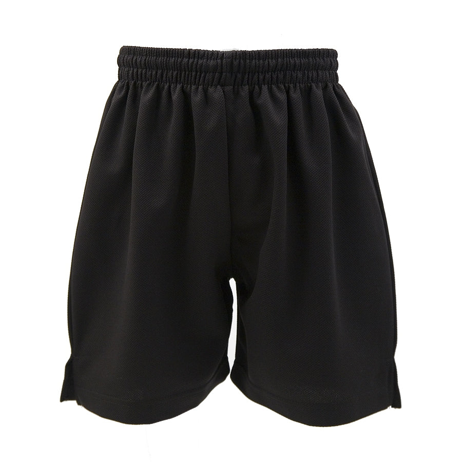 Sports Short - Heavyweight Polyester - Black