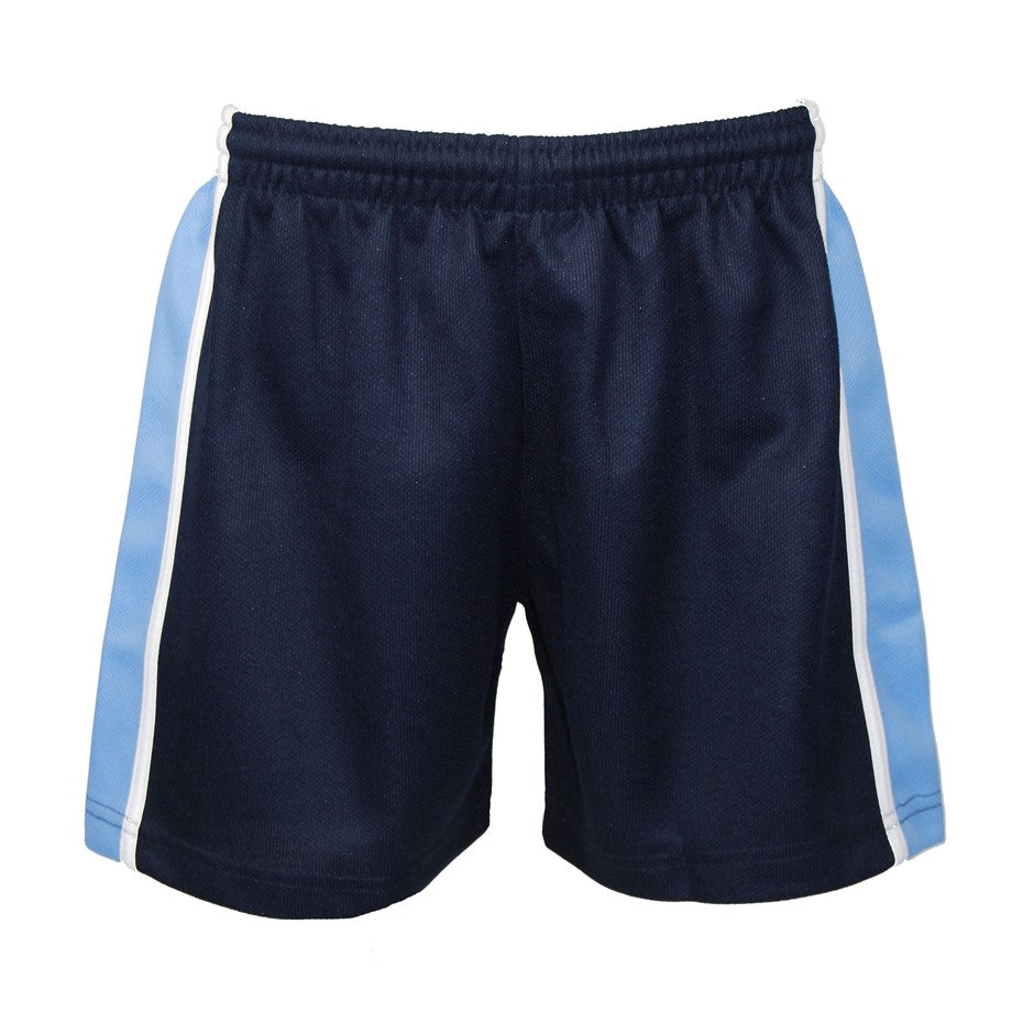 Games Short - Navy Sky White