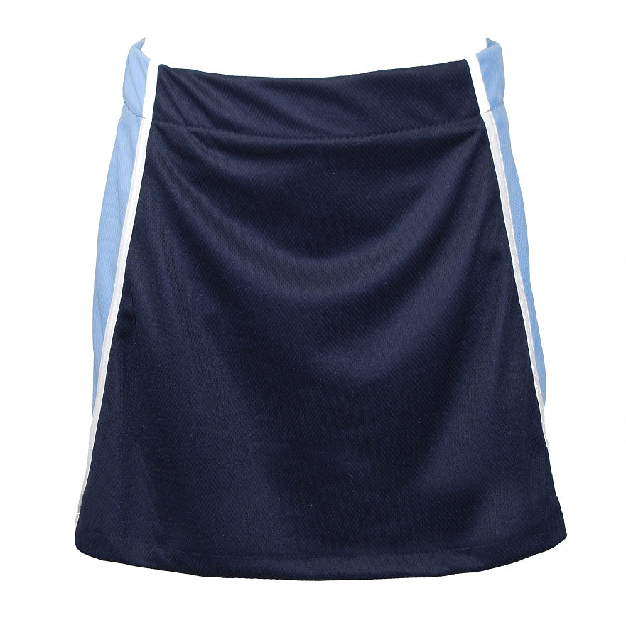Games Skort - Navy Sky White