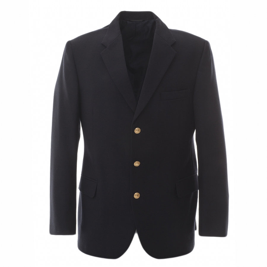 College Jacket With Lapels
