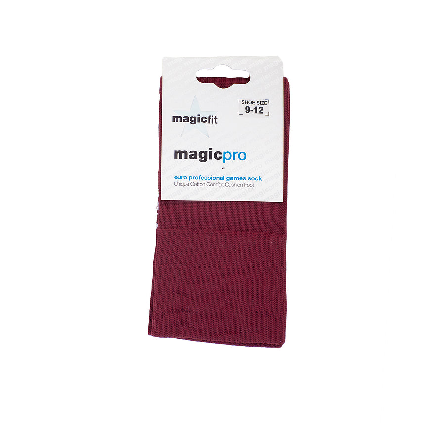 Games Socks Maroon