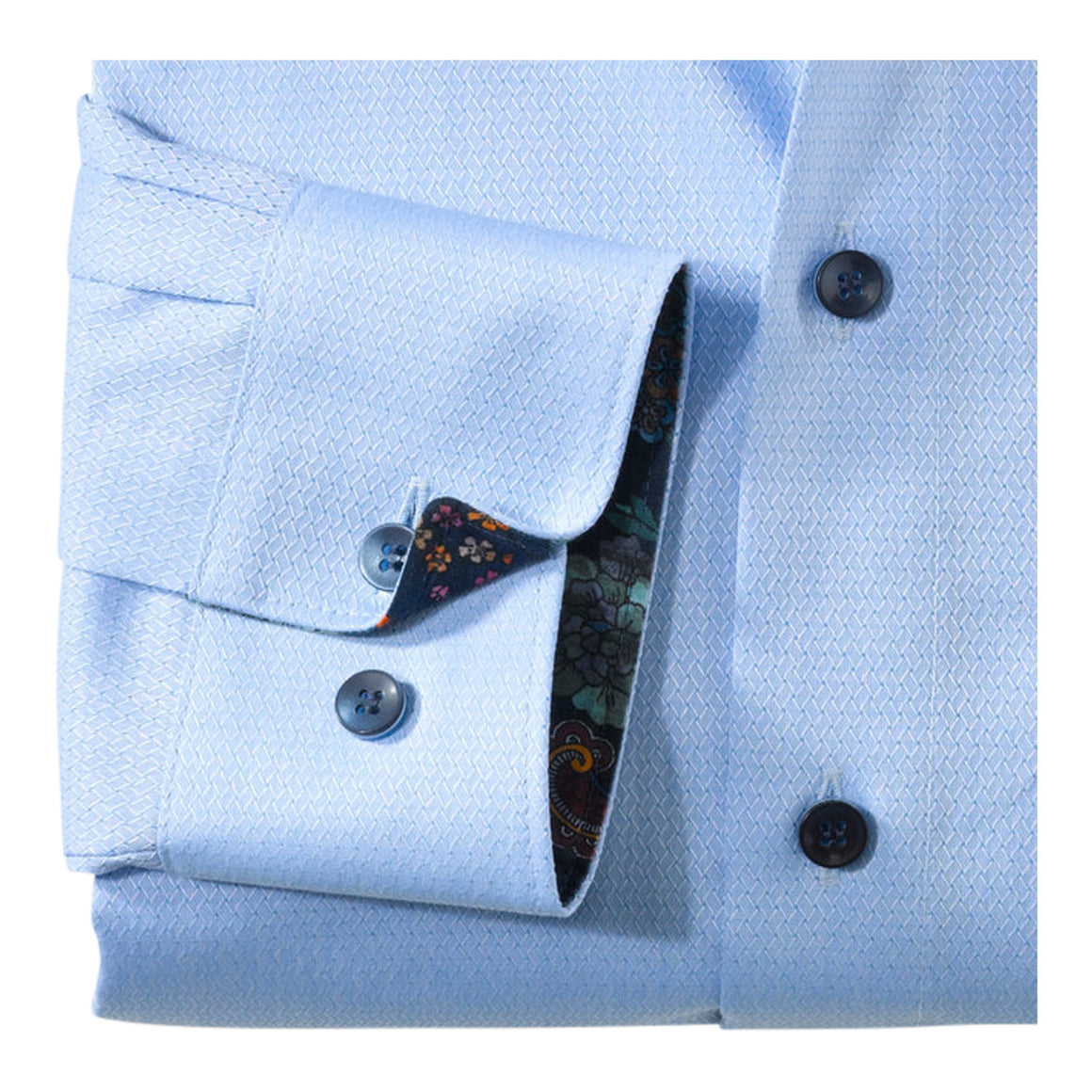 Diamond Texture Shirt for Men in Sky