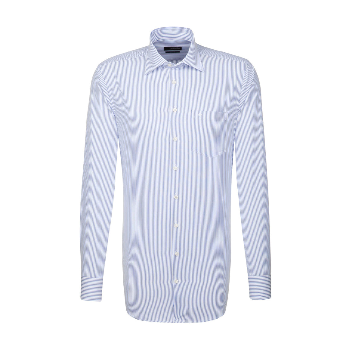 XLS Regular Fit S/C Shirt for Men in White & Black
