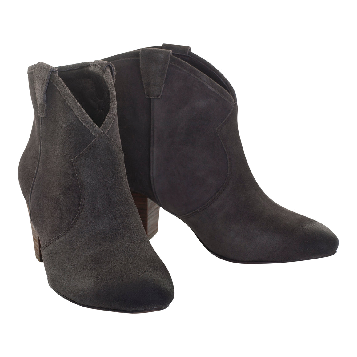 Jalouse Ankle Boot for Women in Wood Ash