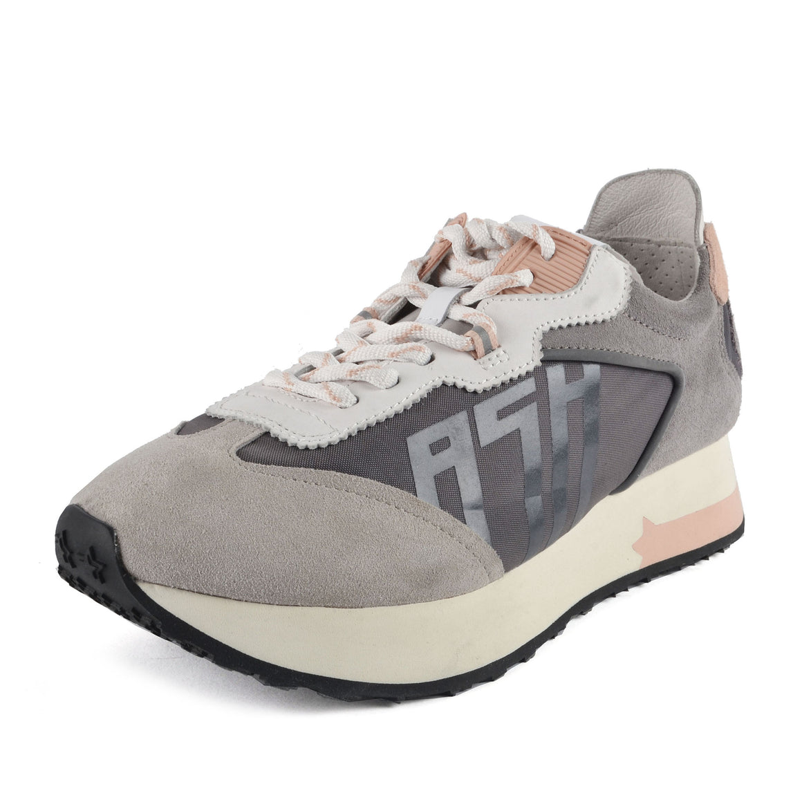 Tiger Trainers for Women in Grey/Nude