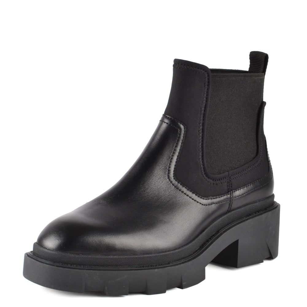 Metro Metro Chelsea Boots for Women in Black Leather