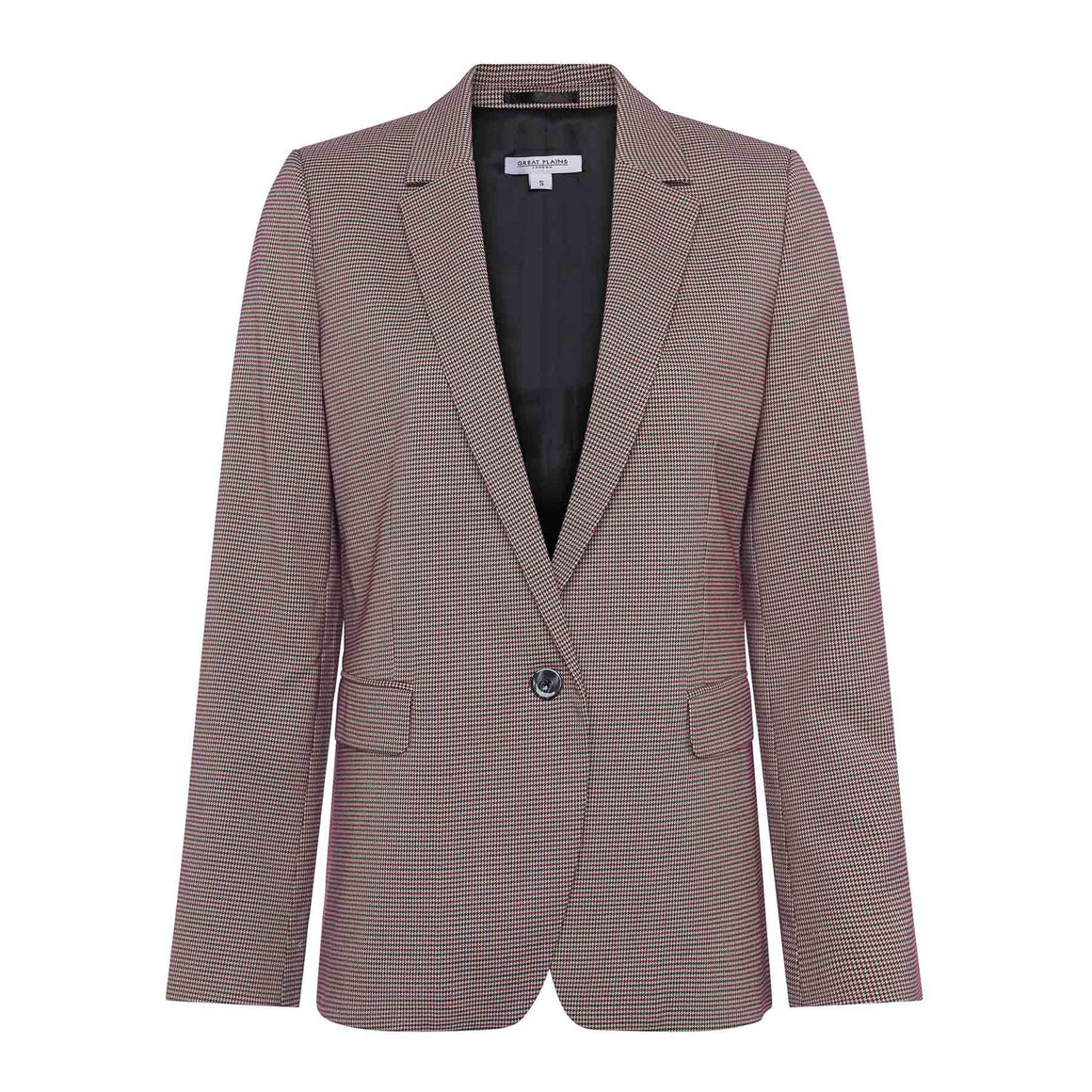 Risby Check Blazer for Women in Multi