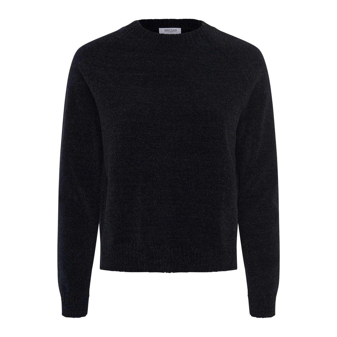 Bethan Chanile Knit for Women in Black