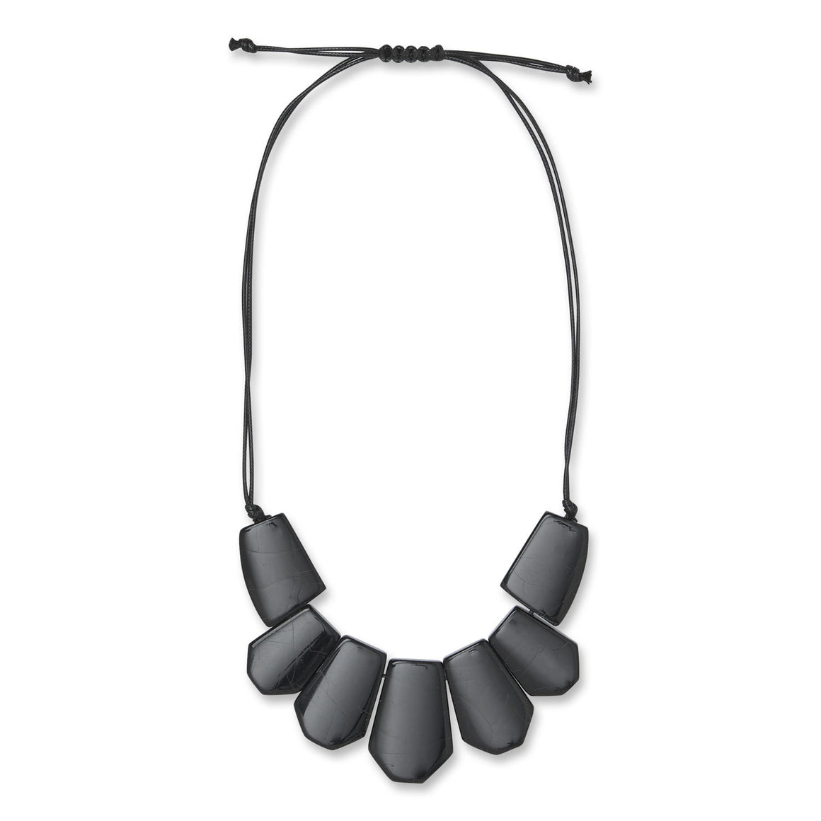 Reece Necklace for Women in Black