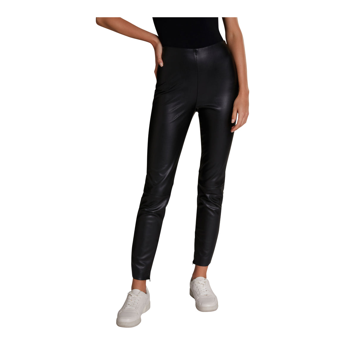PU Legging for Women in Black