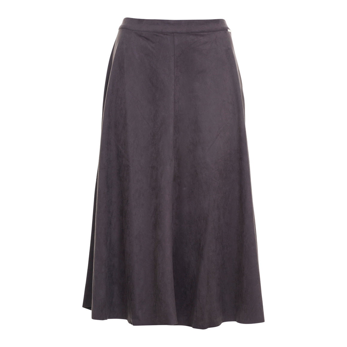 Ranomi Faux Suede Skirt for Women in Dark Olive