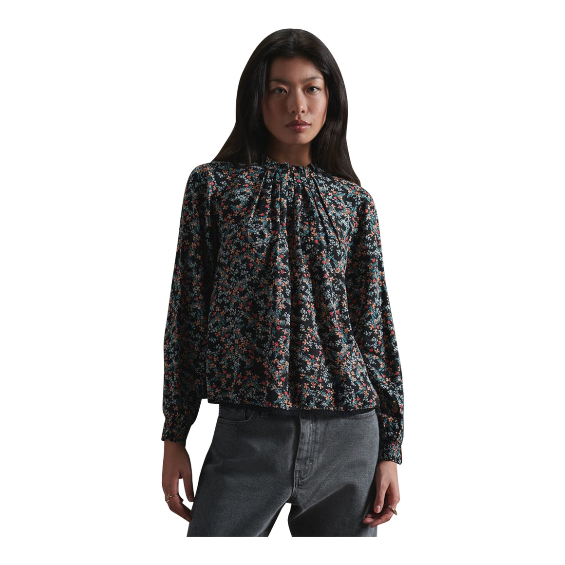 Richelle Top for Women in Autumn Daisy
