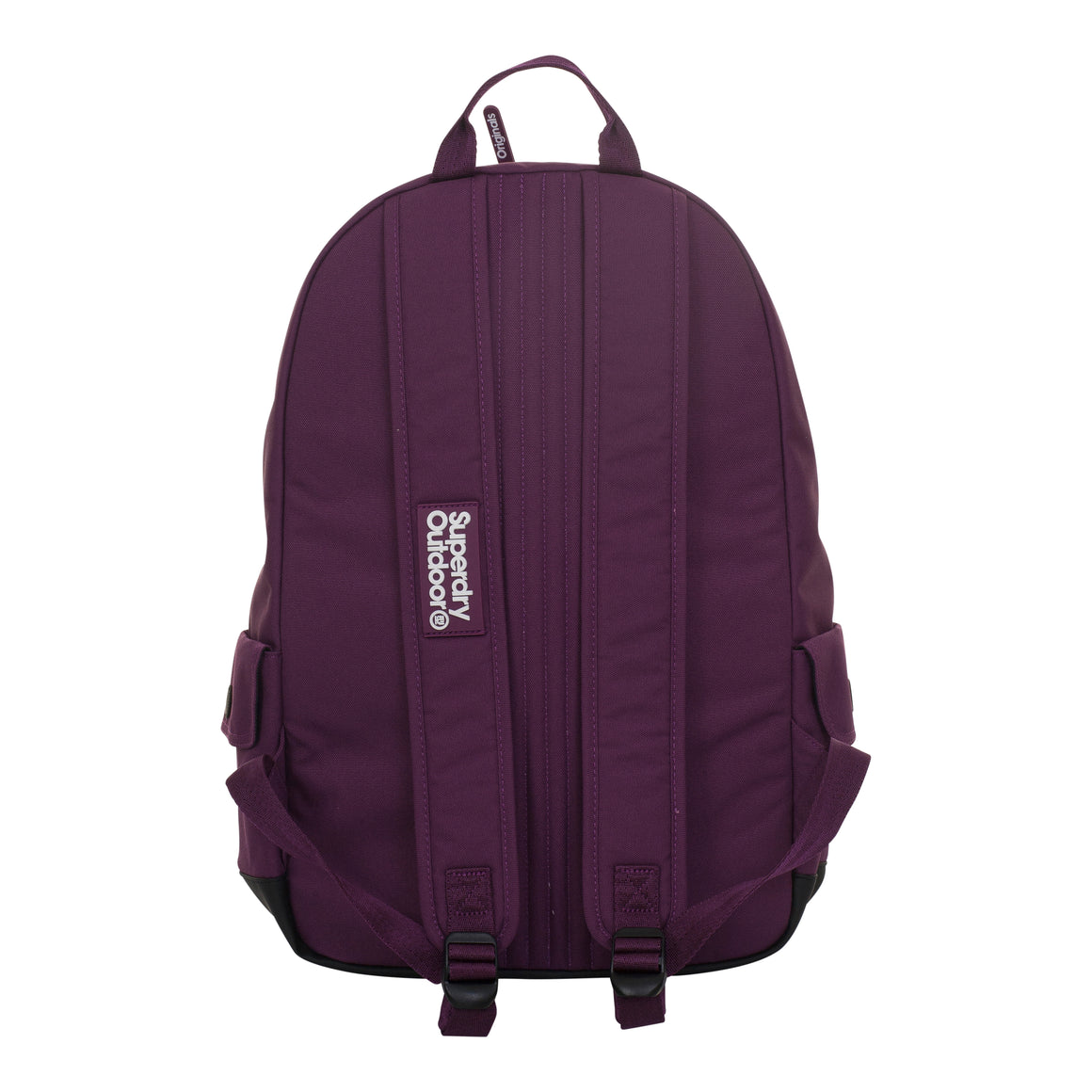 Leopard Montana Backpack for Women in Dark Purple