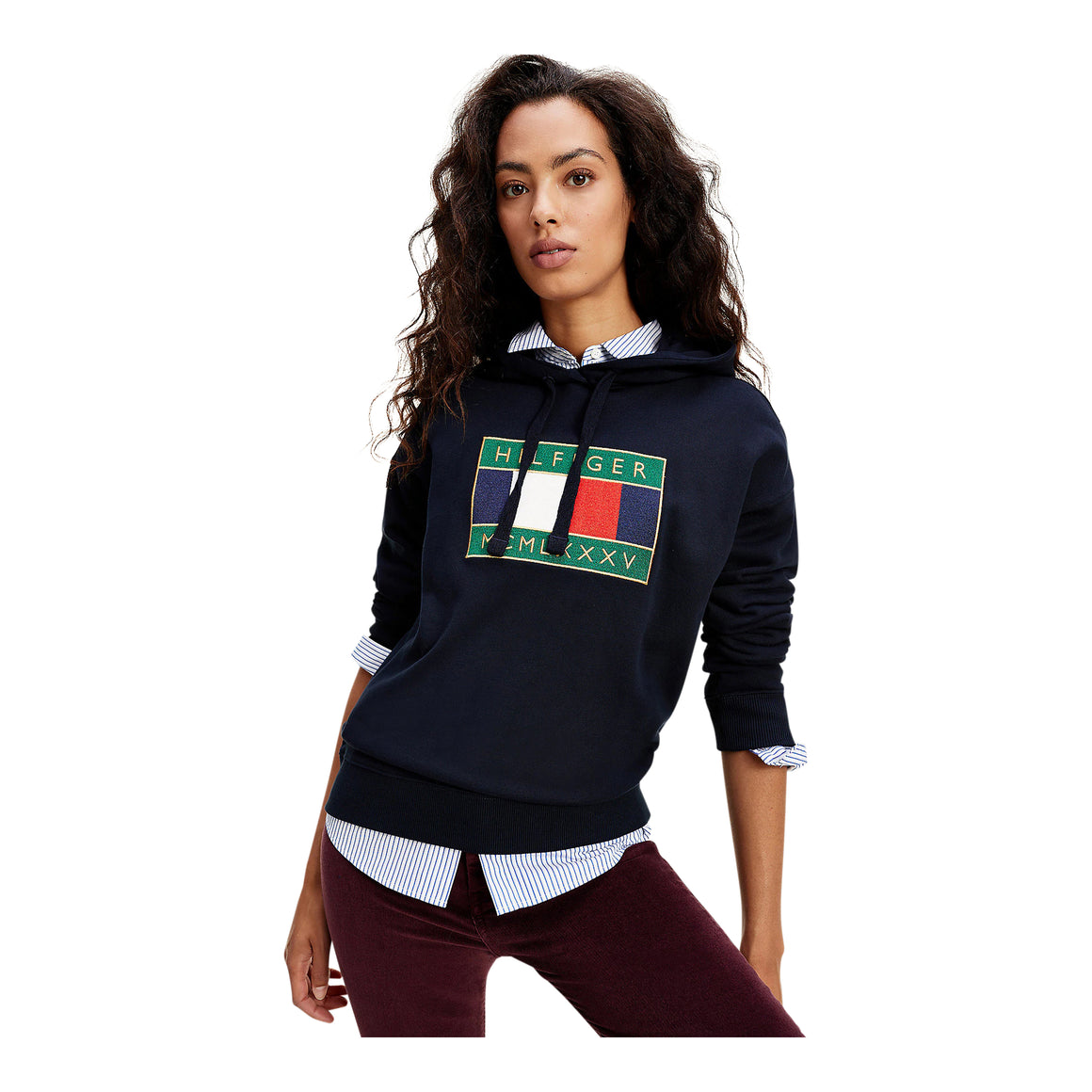 Flag Hoodie for Women in Desert Sky