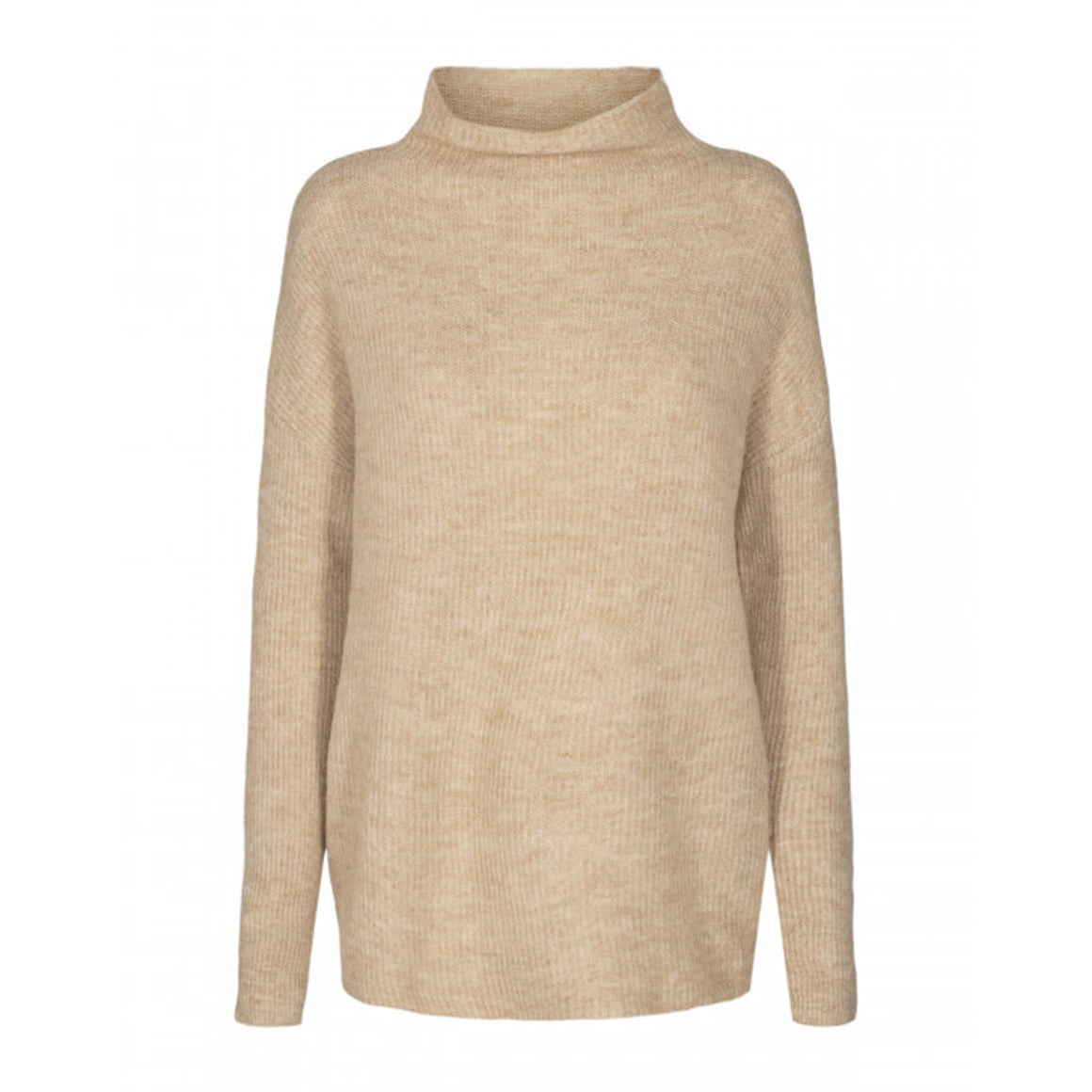 Nessie Rib Knit for Women in Stone