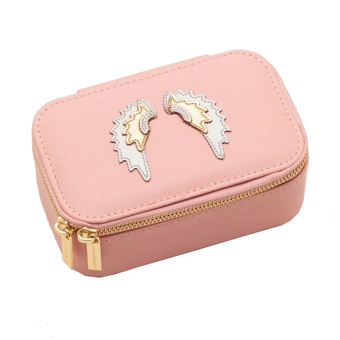 Angel Wings Jewellery Box for Women in Blush Pink