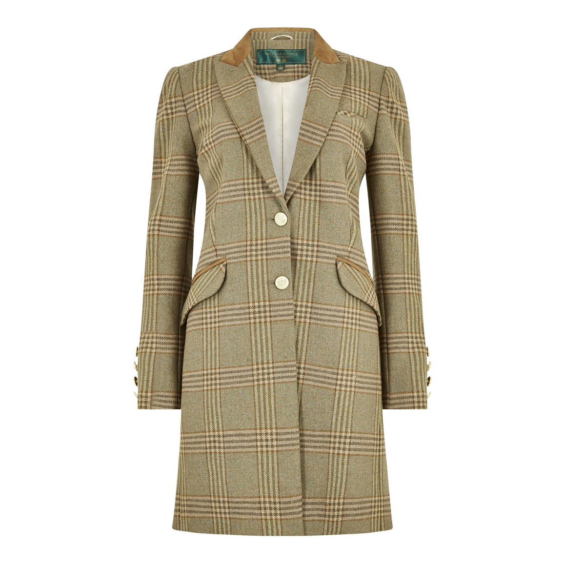 Kempton Coat for Women in Leveret