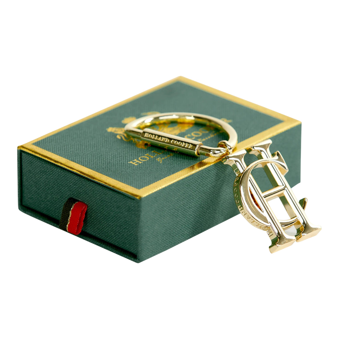 Key Ring for Women in Gold