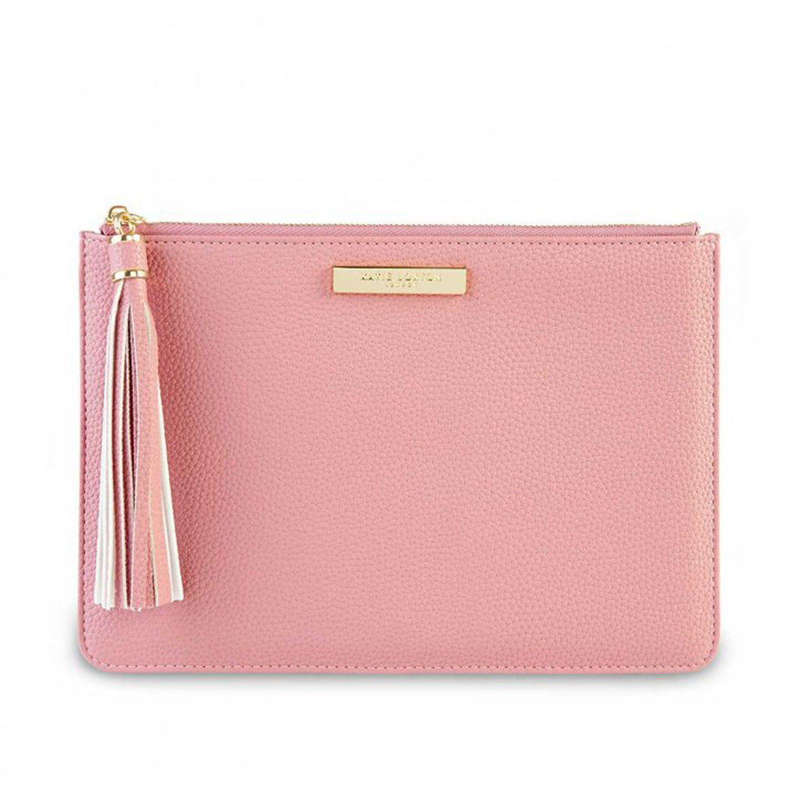Tassel Pouch for Women in Pink