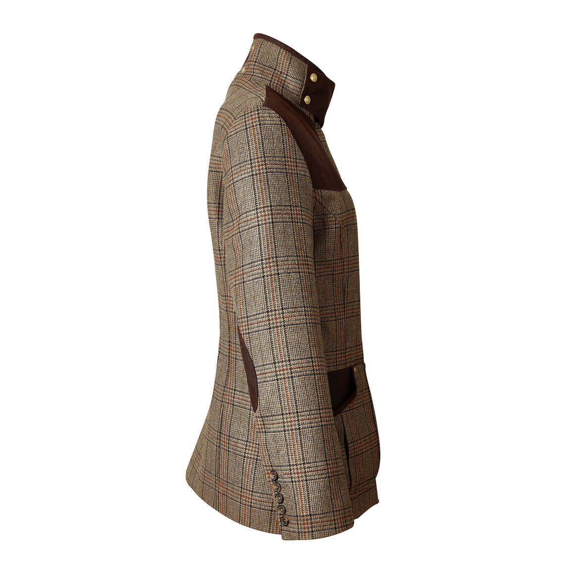 Country Classic Jacket for Women in Bourbon Tweed