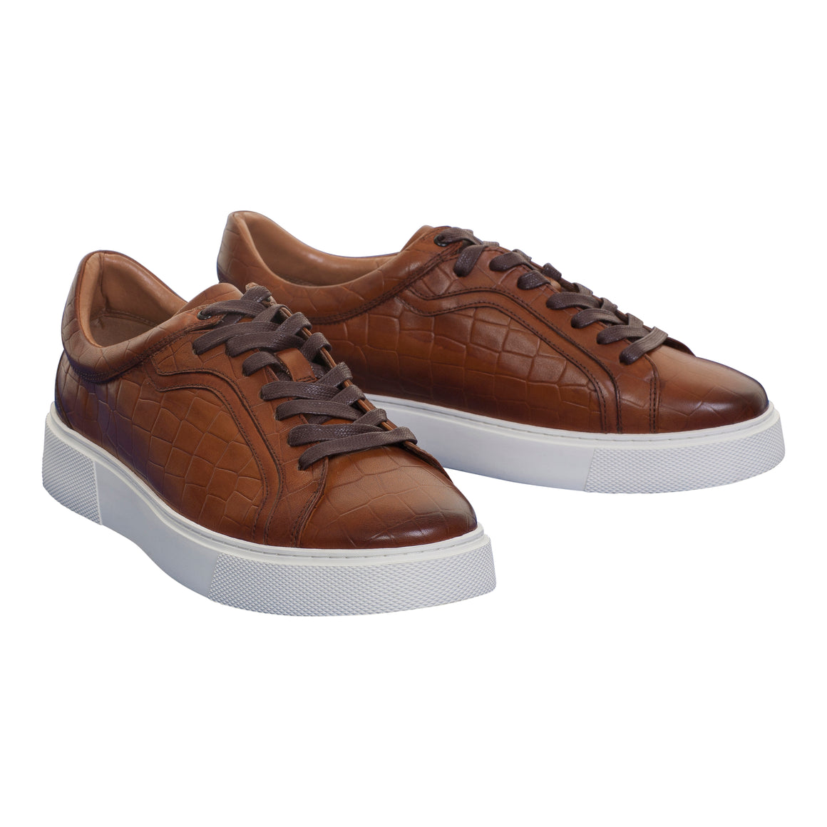 Sadio Trainers for Men in Brown