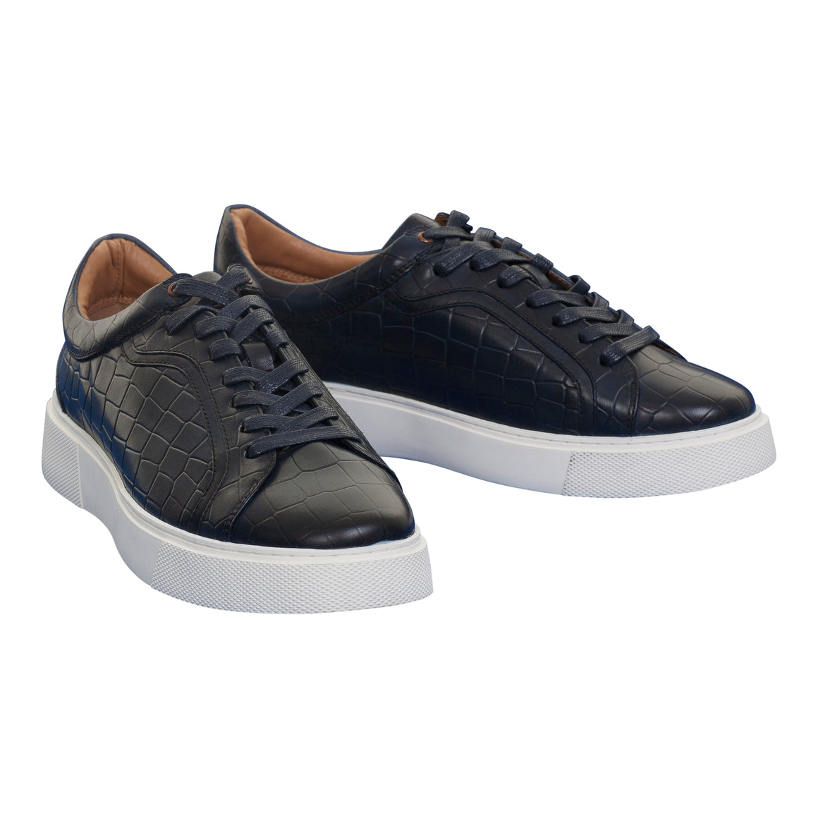 Sadio Trainers for Men in Navy