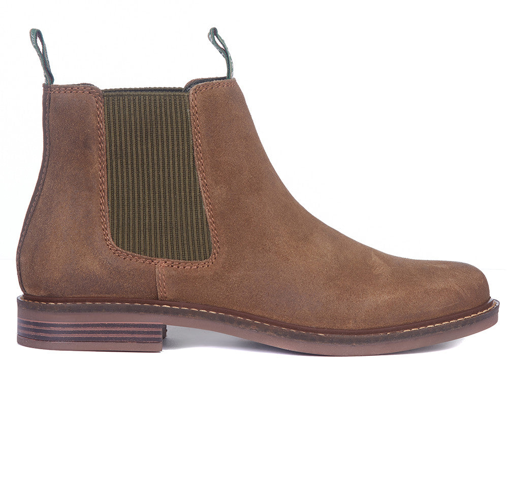 Farsley Boot for Men in Brown Suede