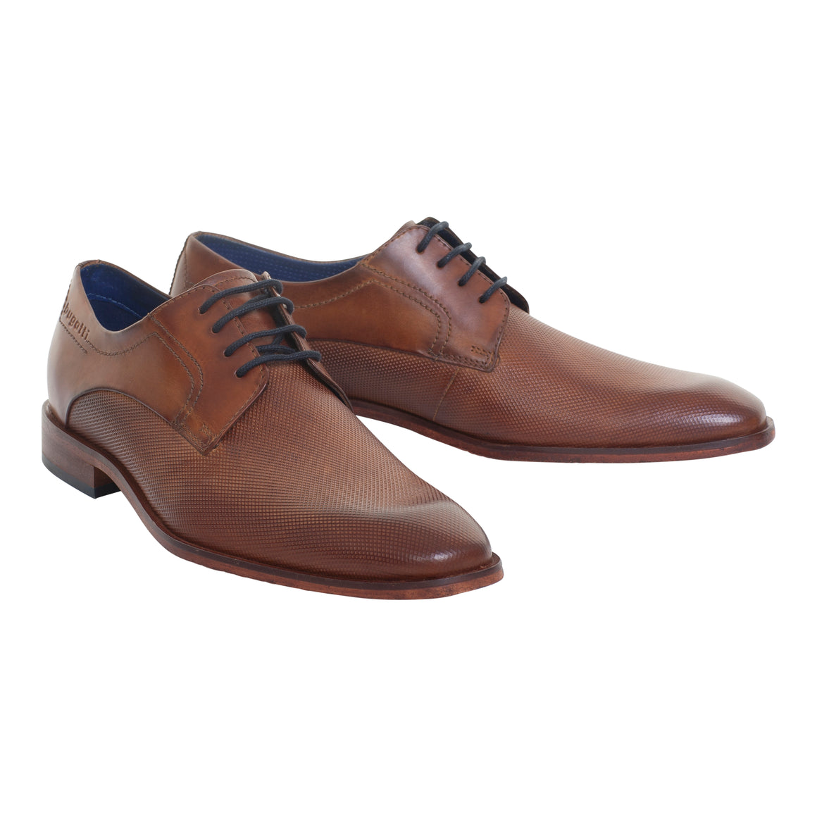 Casual Shoe for Men in Cognac/Dk Brown