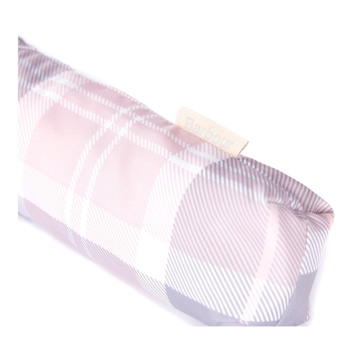 Portee Umbrella in Pink/Grey/Tartan