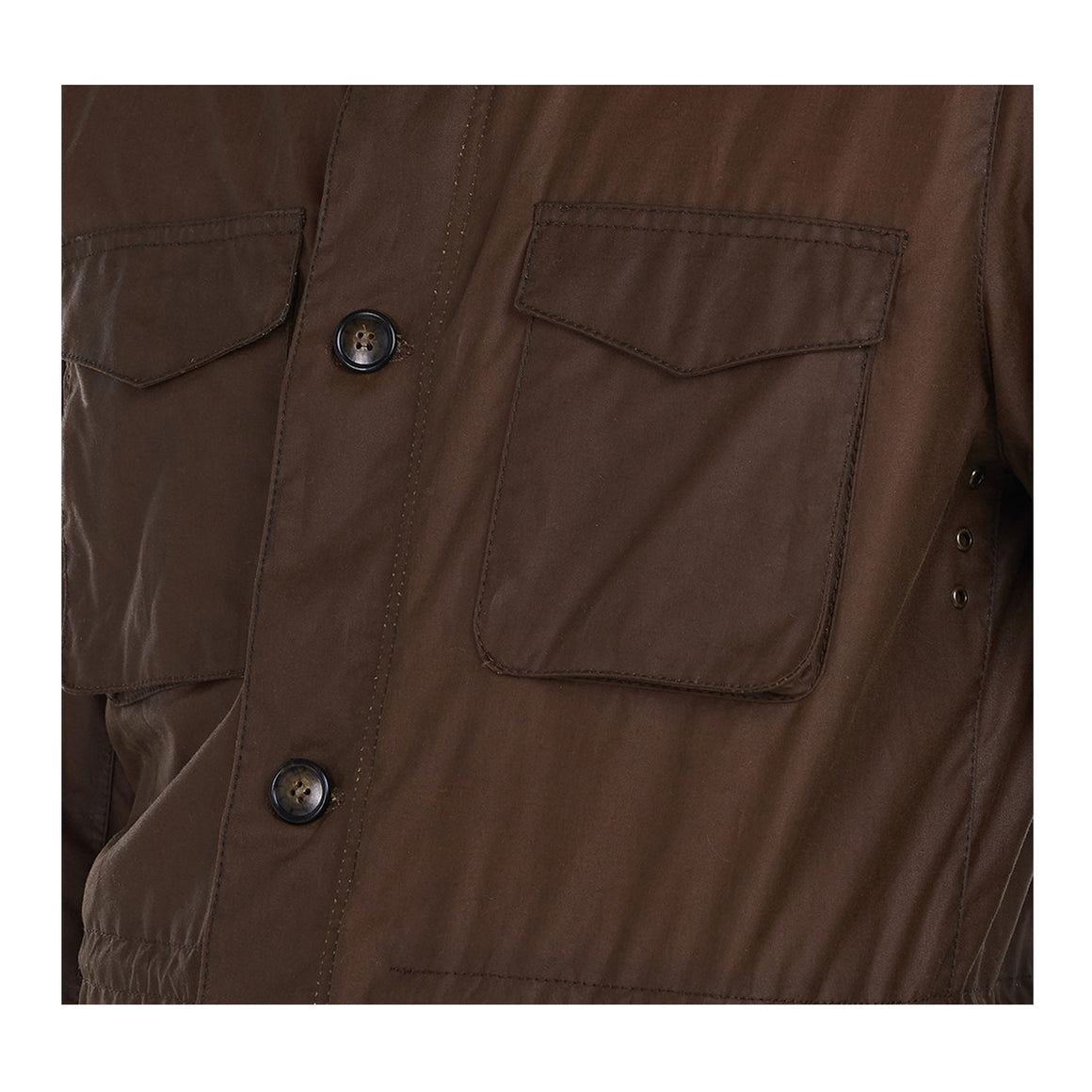 Teddon Wax Jacket for Men in Brown